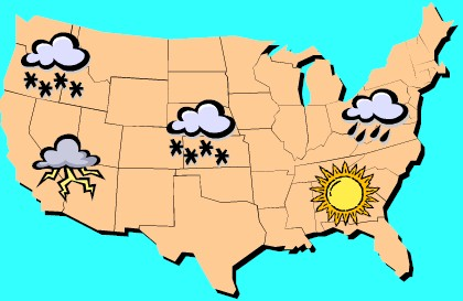 Weather Map 1