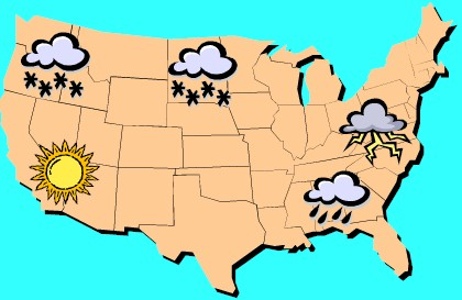 Weather Map 3
